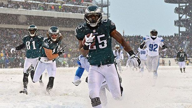 Through the snow and into the playoffs.  Fantasy playoffs, of course.
