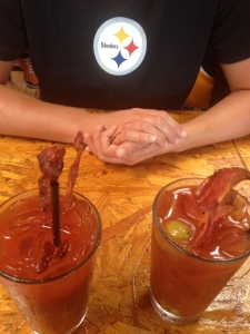 Bloody Marys at Bub's Dive Bar
