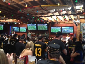 Steelers Bar in San Diego